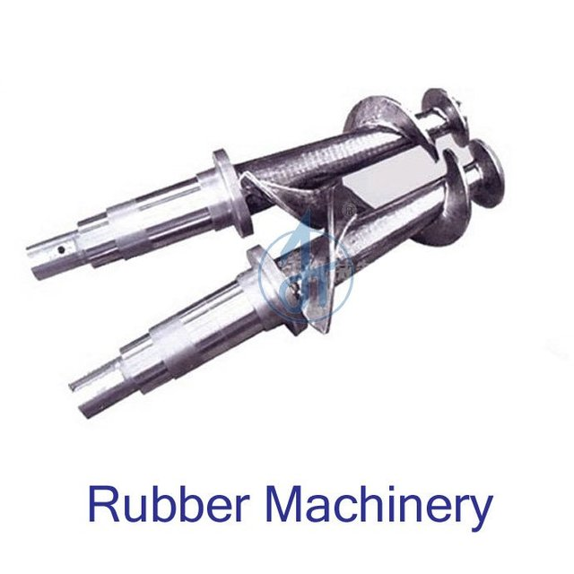 rubber machine screw barrel/rubber screw /rubber extruder machine plastic & rubber machinery parts