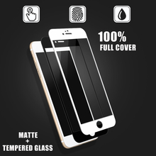AGC Material Full Screen Cover !! For Mobile phone accessory iPhone 6s / 6s Plus Matte tempered glass screen protector