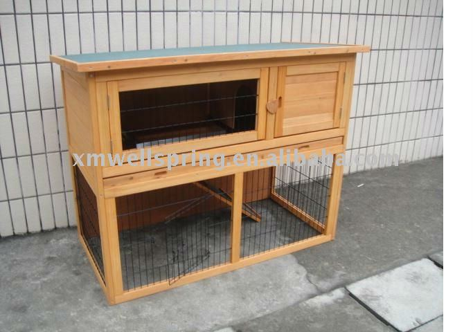 2 story rabbit hutches