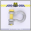 High Tensile jaw swivel snap shackle , stainless steel shackle