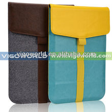 2014 New!Leather tablet sleeve pouch case cover for Samsung Galaxy Tab 3 Lite
