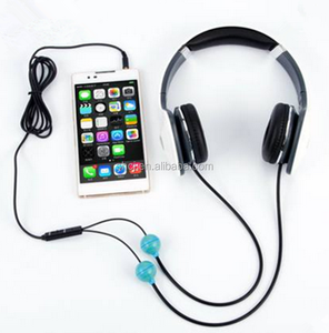 2015 china supplier dj headphone , New product 2015 air tube radiation proof Earphone for computer game