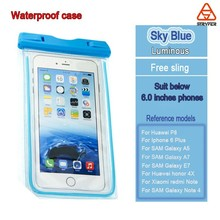 For Iphone 6 Mobile Phone PVC Waterproof Bag, fashion phone pvc waterproof case for iphone 6