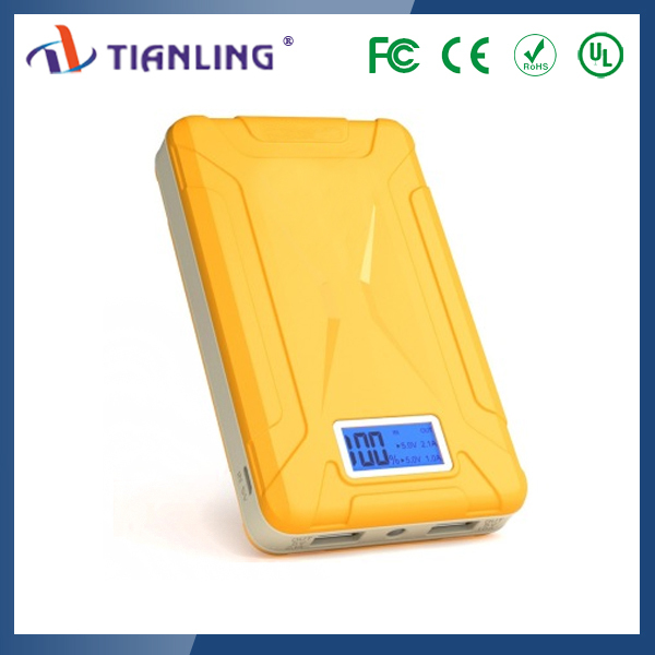 New arrival multi-function portable power station power bank 10800 mah