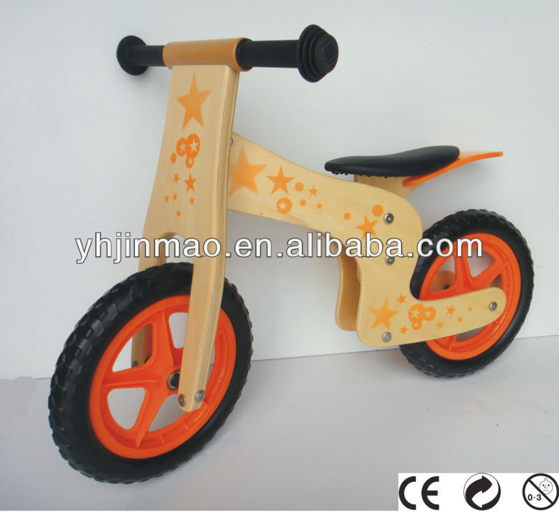 2015 most popular wooden bike for children ,dirt bike the toys direct from china