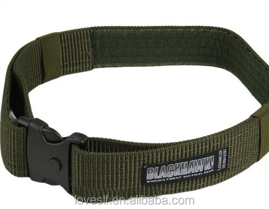Nylon and Metal Adjustable Survival Tactical Belt Emergency Rescue Rigger Militaria CQB for Field Operations, Riding, Hunting