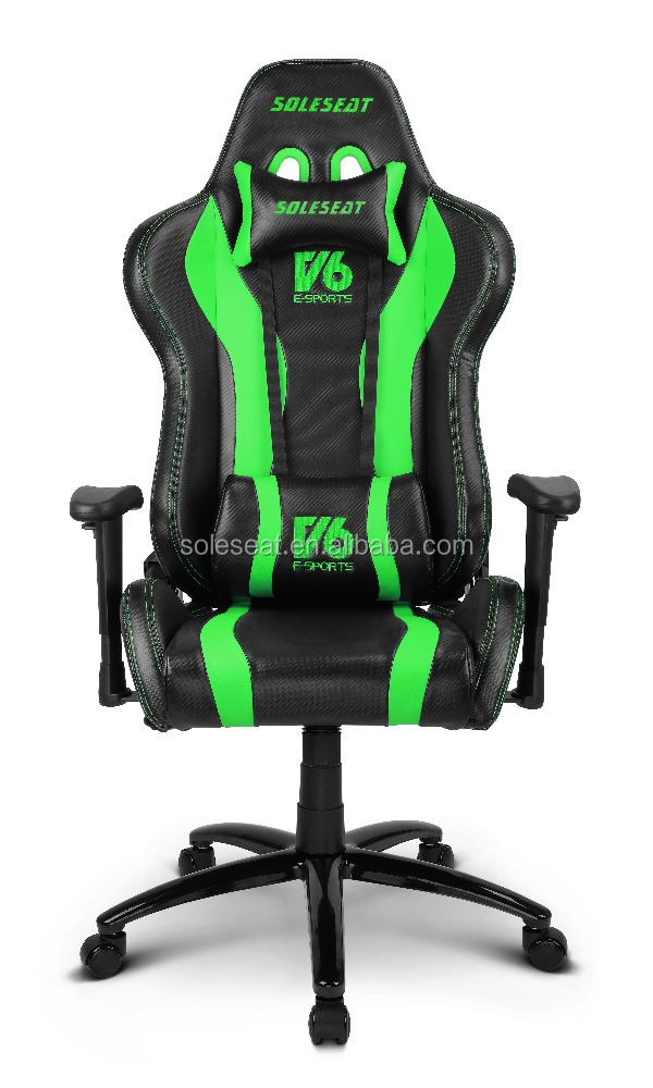 V6 Sparco racing style gaming High quality Sparco racing style gaming office seat with PU leather or fabric