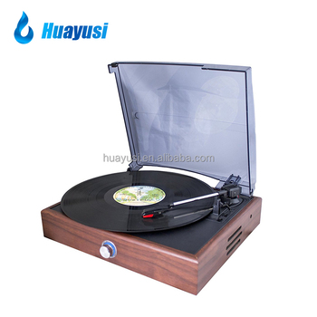 wooden vinyl turntable modern gramophone record player for sale