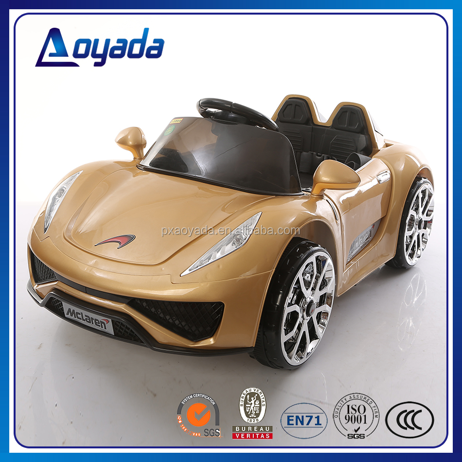 Fashionable designed and hot sale rc electric cars for kids with baking varnish paint