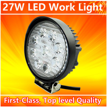 Wholesale Auto Spare Parts 4WD UTE Offroad Led Work Lamp Light 27W top sale Flood Spot IP67