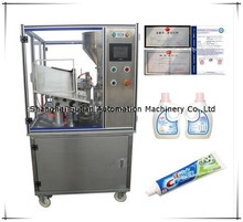 MTAF-200 automatic hand cream tube filling and sealing machine