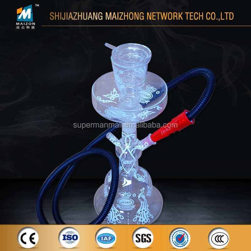 Hot Sale All Glass Hookah Clear Glass Hookah Dubai Al Fakher