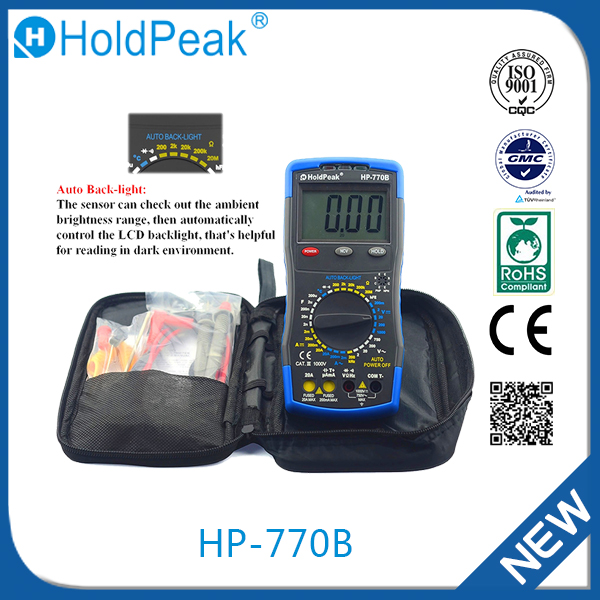 HP-770B China supplier high quality digital multimeter with unique design