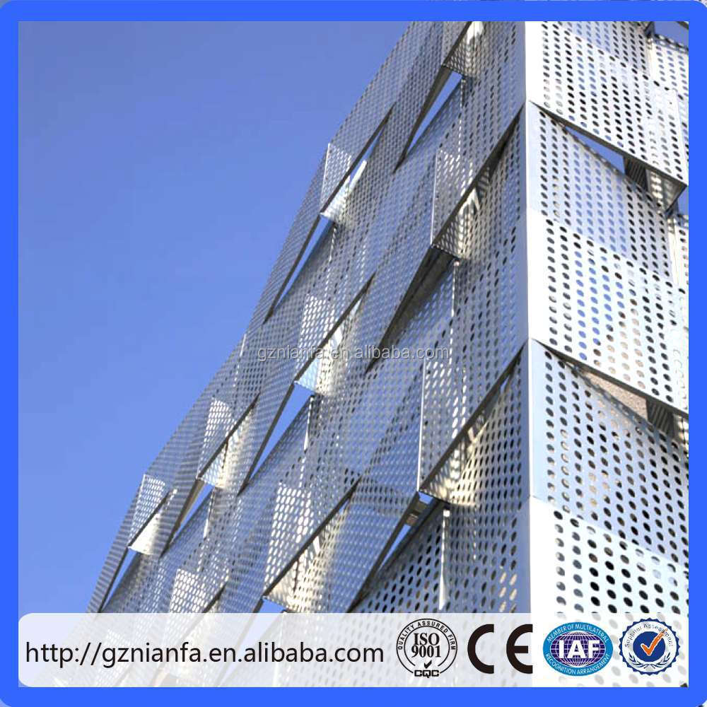 perforated corrugated metal panels (GuangZhou Factory)