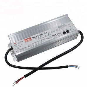 HLG-320H-30A Christmas Light Power Supply Meanwell 30V LED Driver IP65 Waterproof With Metal Case