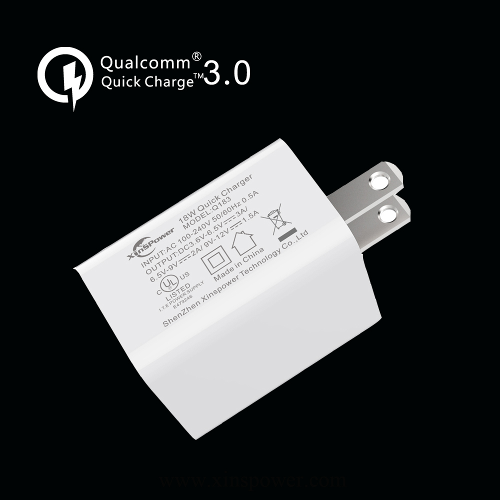 TOP celes Wall USB Charger with Quick Charge 3.0 (USB-C Cable Included) for LG QC 3.0 usb wall charger battery adapter