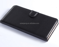PU leather wallet design mobile phone case with stand function for cell phone