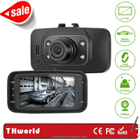 $8 only 2.7 inch Novatek black box gs8000l manual car camera HD DVR with clear night vision and g-sensor