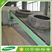 Crumb Rubber Production Line Tire OTR Recycling