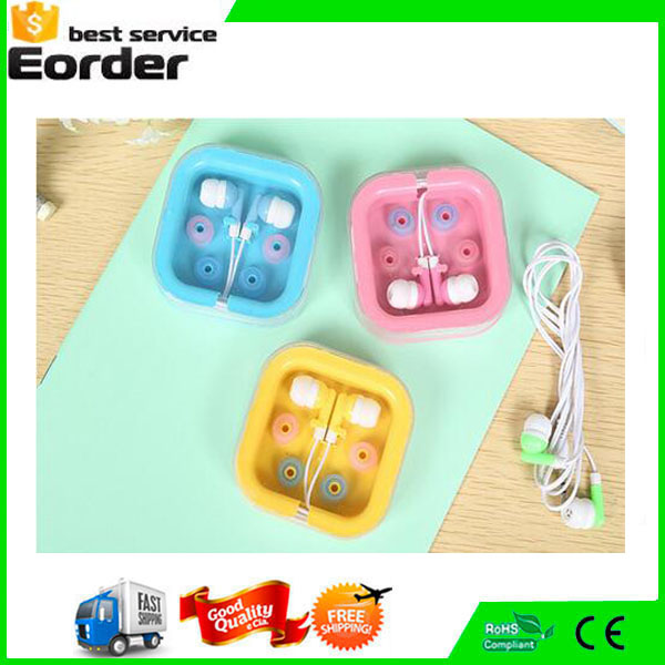 3.5MM Diameter Stereo Plug Headset In-Ear MP3 MP4 Earphone