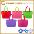 2016 hot sell colorful degradable handle bag
