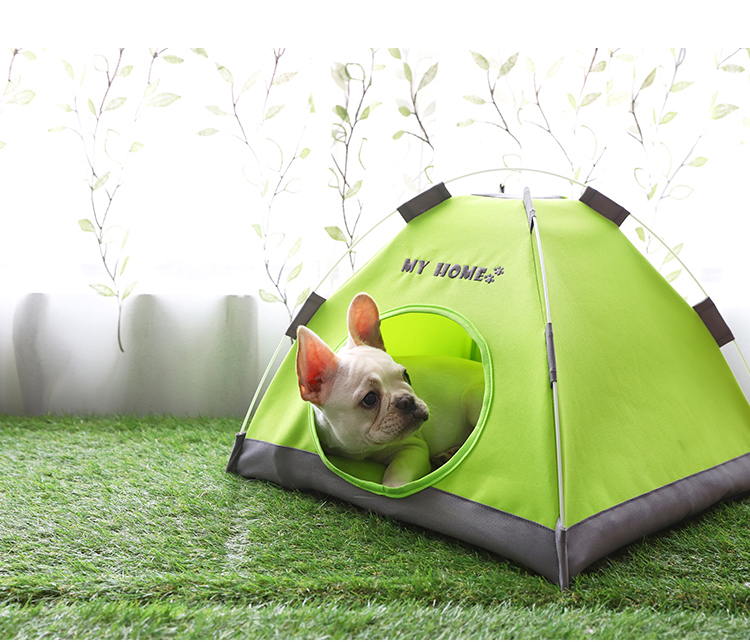 Soft Happy Pet Tribe Comfortable Pet Teepee Dog/Cat Tent