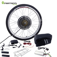 48V 1500W e bike electric bicycle conversion kit with 48V 20Ah lithium battery