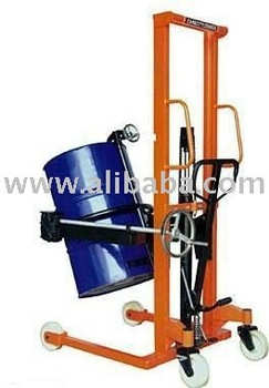 Drum Stacker With Tilter