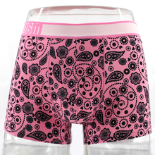 good quality men knitted underwear boxer shorts in prints