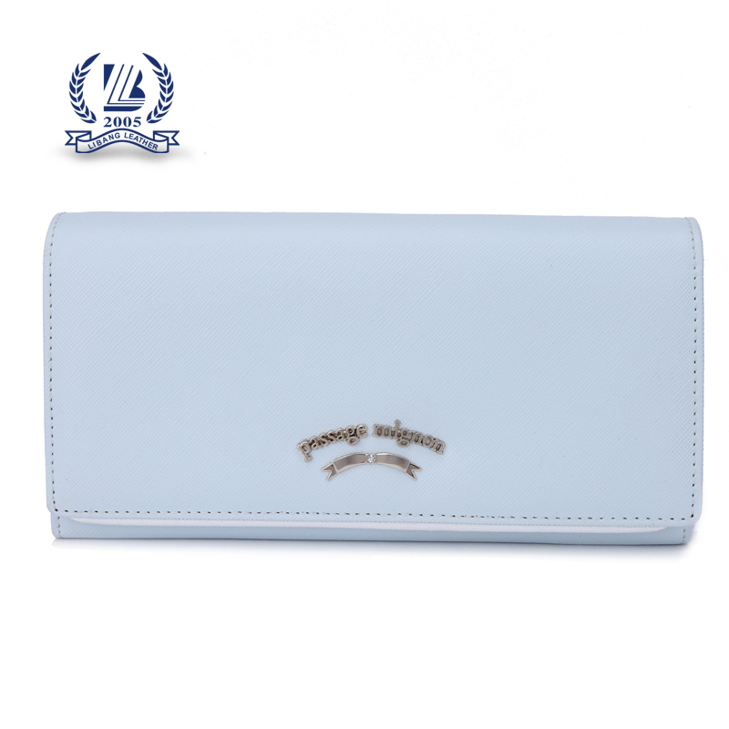 hot sale and high quality woman PU wallets with customized logo OEM factory