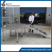 China wholsale easy convenient decent stage with telescopic legs