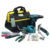 LAOA 35pcs home use 12V li-ion battery charged electric drill set electrician repair tool bag domestic use tool set