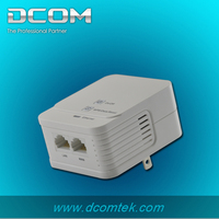 200m plc adapter Wireless module supports AP Mode homeplug wireless powerline network ethernet