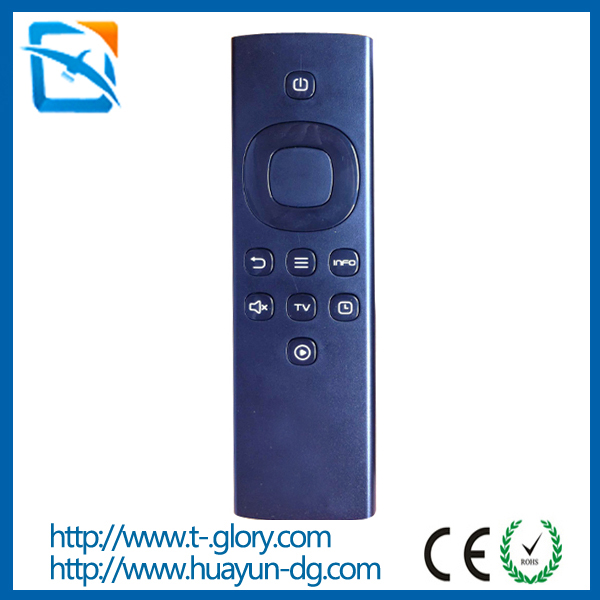 IR remote controller with silicone buttons for pc