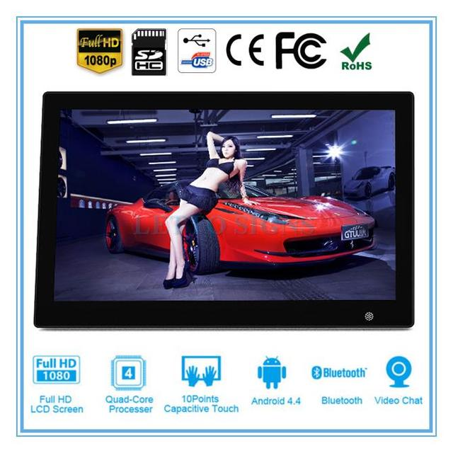 Custom taxi cab digital signage lcd advertising player