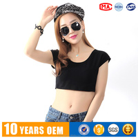 High Quality Cotton Short Sleeve Nightclub