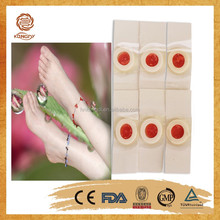 Medical callus corn remover OEM offered/salicylic acid and phenol plasters clavus plaster