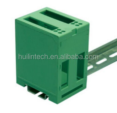 Dinkle din rail type industrial plastic electronics enclosures