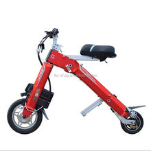 foldable scooter cheap electric bicycle folding ebike / 250W 36v LG lithium battery bicycle