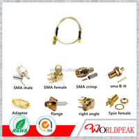 OEM JWT D-SUB 15 PIN Rated current Coaxial Connector Sma Female Sma Rf Cable Assemblies