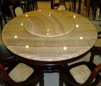 Yellow/Green Onyx Marble Table Tops, Cultured Marble Vanity Tops, Marble Tiles and Slabs