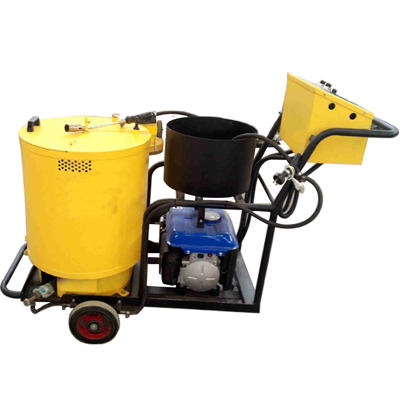 Asphalt crack sealing machine used for road repair
