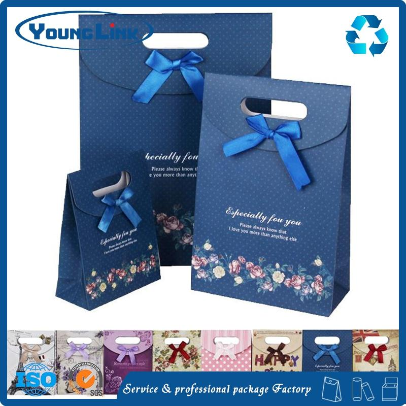 Custom printing art gift bags with personal logo