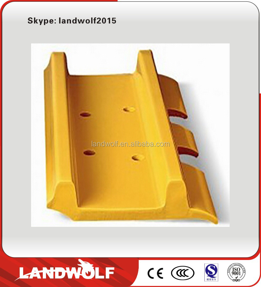 2015 Hot sales PC360-7construction excavator machinery spare parts of rubber track shoes