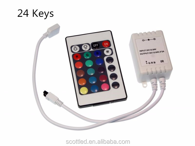 Mini RF rgb LED Wireless Remote Controller 17 Keys For 5050/3528SMD LED Lights Strip/9,10,11,12,14,24,44keys