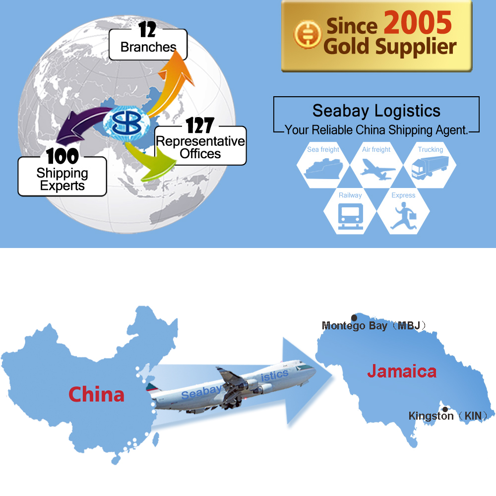 cheap shenzhen china air freight forwarder service to kingston jamaica