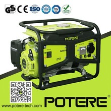 Rated output 900w peak 1100w portable gasoline generator for electric power