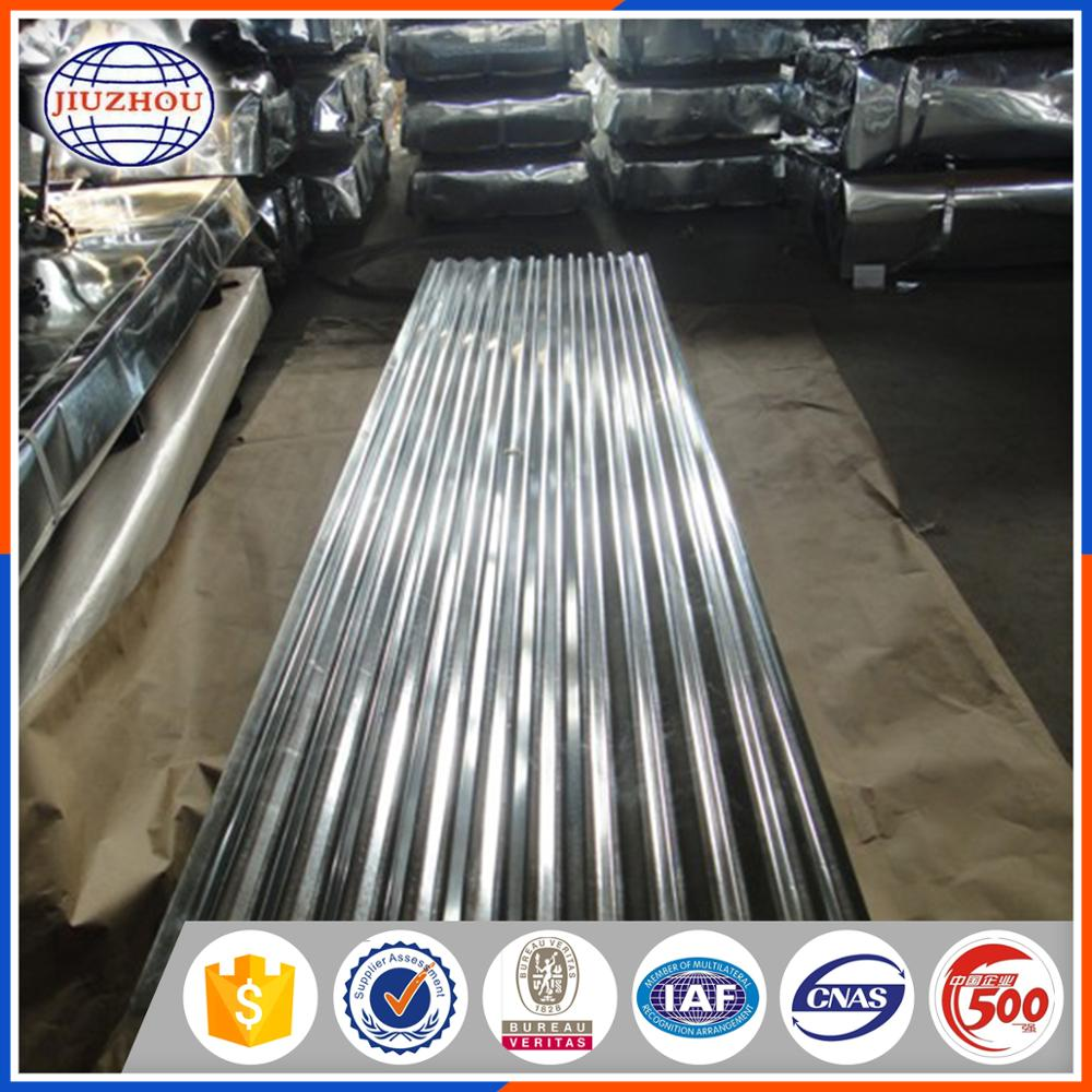 Good price aluminium corrugated color coated steel roofing sheet