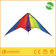 1.8m big colourful delta kite for beach rainbow kites children and adults kite