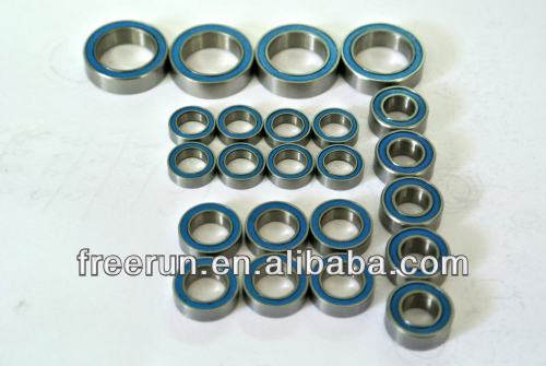 High Performance TEAM LOSI RC CAR 5IVE-T 4WD RACING TRUCK ceramic bearing kits with different rubber seal color